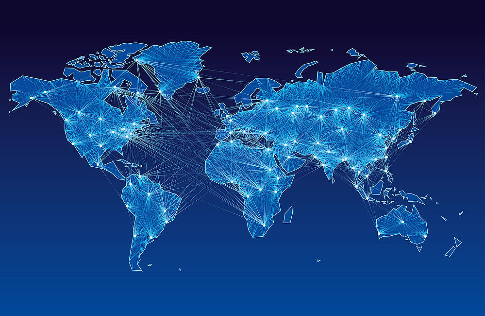 Global network to fulfil your print needs literally anywhere in the world!